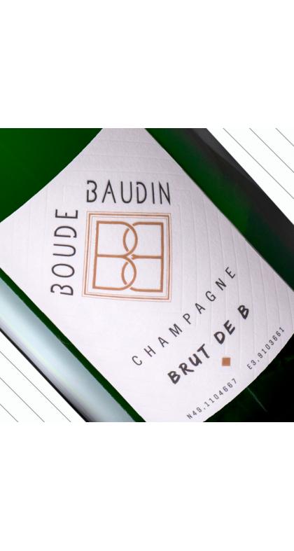 Brut, du producteur au consommateur Champagne Boude Baudin