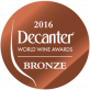 Champagne Boude Baudin decanter 2016 médaille