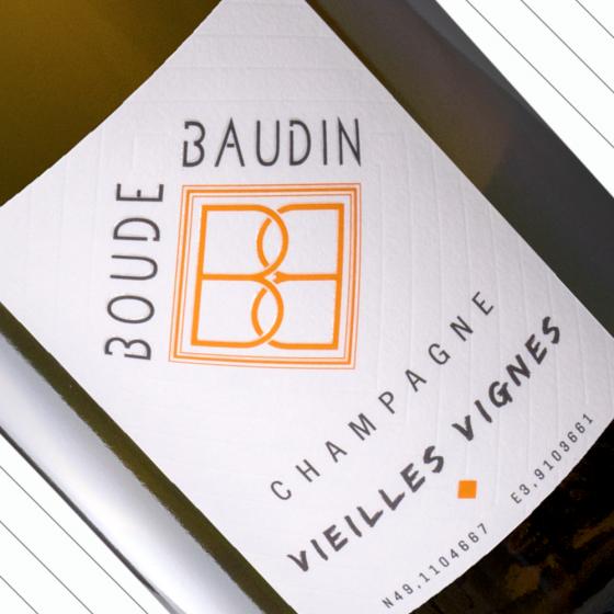 Vieilles Vignes Extra Brut, du producteur au consommateur Champagne Boude Baudin
