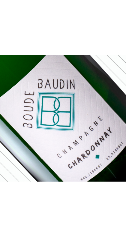 Brut Chardonnay, champagne de vigneron Champagne Boude Baudin