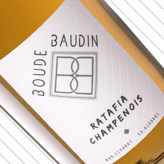 Ratafia Champenois IGP Champagne Boude Baudin